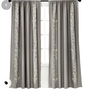 Threshold from Target Blackout Grey Cream Curtains